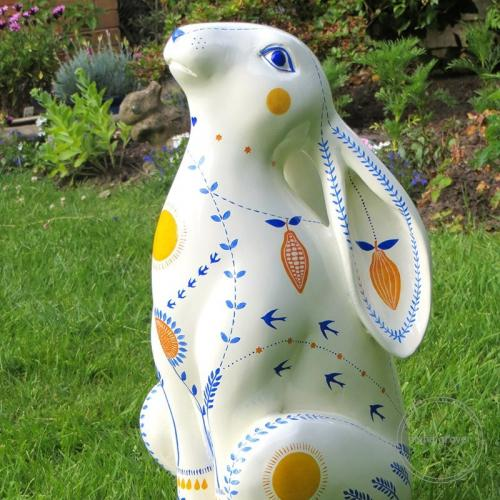 'Harvest Hare' for Cirencester March Hare Festival