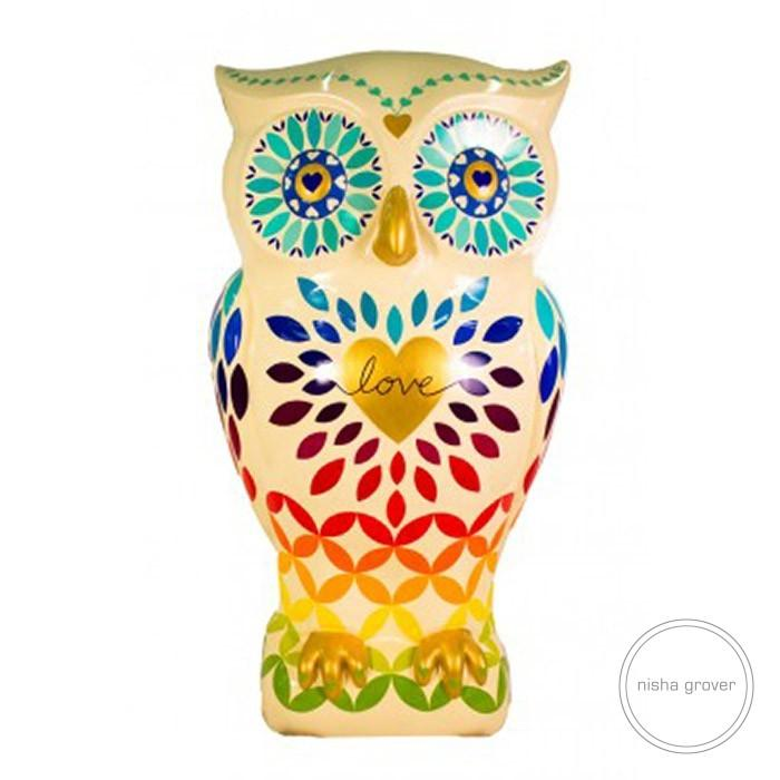 'Love Owl' for The Big Hoot Art Trail Birmingham